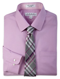 Enro® Non-Iron Ultra Pinpoint Dress Shirt