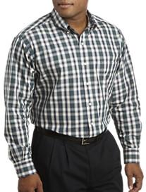 Oak Hill® Long-Sleeve Plaid Sport Shirt