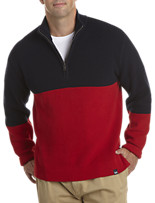 Nautica Jeans Co.® 1/4-Zip Colorblock Sweater