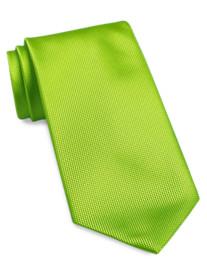 Geoffrey Beene® Textured Solid Silk Tie