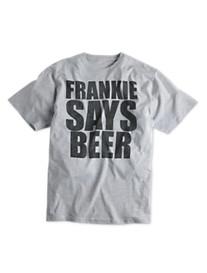 Frankie Says Beer Graphic Tee