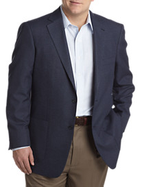 Oak Hill® Jacket Relaxer™ Bi-Swing Windowpane Sport Coat
