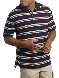 Harbor Bay® Multi Stripe Polo