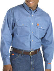Riggs Workwear™ by Wrangler® Flame-Resistant Work Shirt