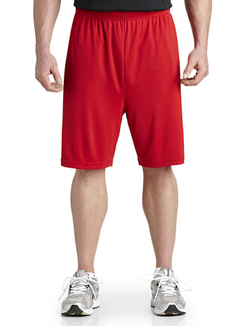 Reebok PlayDry® Tech Athletic Shorts ( Active Bottoms )