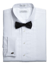 Enro® Poplin French Cuff Tuxedo Dress Shirt