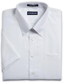 Damon Short-Sleeve Ultra Poplin Dress Shirt
