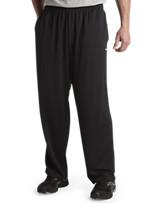 Reebok Play Dry® Tech Open-Hem Pants