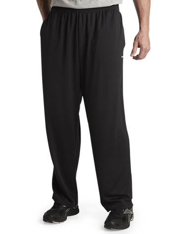 Reebok PlayDry® Tech Open-Hem Pants - ( Active Bottoms )