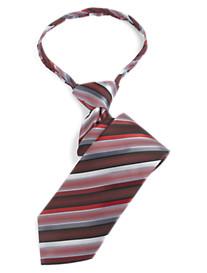 Gold Series Stripe Zipper Tie