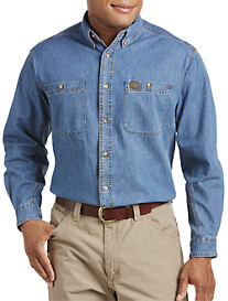 Riggs Workwear™ by Wrangler® Denim Work Shirt