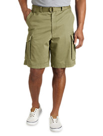 True Nation® Broken-In Twill Cargo Shorts