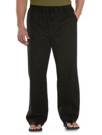 Island Passport® Linen-Blend Drawstring Pants