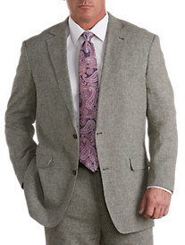 Oak Hill® Houndstooth Linen-Blend Sport Coat