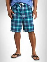 True Nation® Plaid Swim Trunks