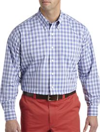 Oak Hill® Medium Check Long-Sleeve Sport Shirt