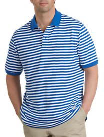 Harbor Bay® Bi-Stripe Piqué Polo
