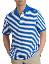 Harbor Bay® Bi-Stripe Piqué Polo
