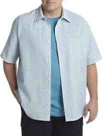 Harbor Bay® Seersucker Check Short-Sleeve Sport Shirt
