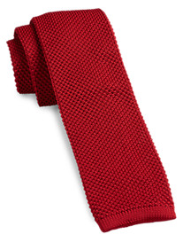 Gold Series Solid Knit Tie