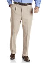 Geoffrey Beene® Solid Single-Pleat Suit Pants