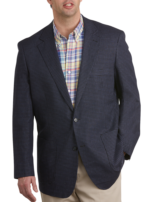 oak hill doubleface sport coat casual male xl big tall ebay. Black Bedroom Furniture Sets. Home Design Ideas