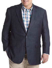 Oak Hill® Linen-Blend Micro Twill Sport Coat