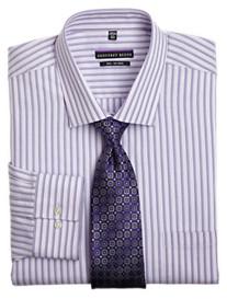 Geoffrey Beene® Lilac Textured Stripe Dress Shirt