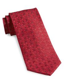 Geoffrey Beene® Lurex Paisley Silk Tie