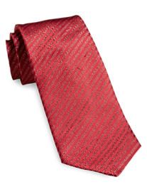 Geoffrey Beene® Lurex Pinstripe Silk Tie