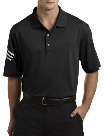 adidas® Golf climacool® 3-Stripe Solid Polo - Adidas