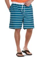 Harbor Bay® Thin Stripe Swim Trunks