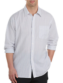 Harbor Bay® Seersucker Stripe Sport Shirt