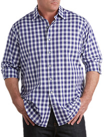 Synrgy® Long-Sleeve Check Sport Shirt
