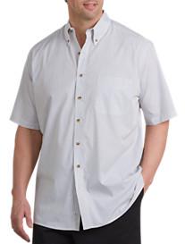 Harbor Bay® Easy-Care Multi Stripe Sport Shirt
