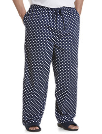 Harbor Bay® Dotted-Pattern Lounge Pants