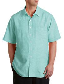Oak Hill® Cotton/Linen Sport Shirt