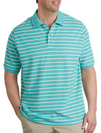 Harbor Bay® Bi-Color Stripe Polo