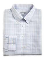Enro® Non-Iron Poplin Check Dress Shirt