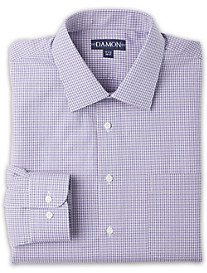 Damon Ultra Poplin Check Dress Shirt