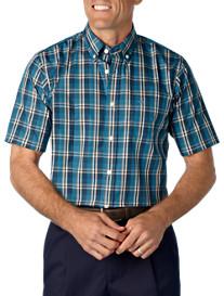 Dockers® Stain Defender Plaid Sport Shirt