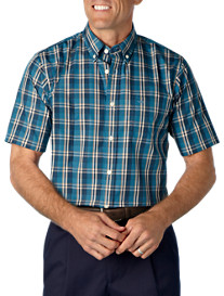 Dockers® Stain Defender Plaid Sport Shirt