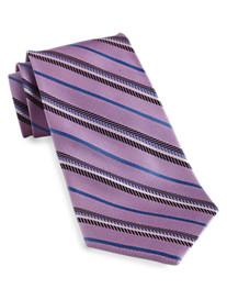 Gold Series™ Designed in Italy Stripe Silk Tie