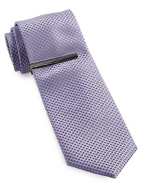 Gold Series Tonal Grid Tie with Tie Bar