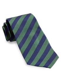 Gold Series Bar Stripe Silk Tie