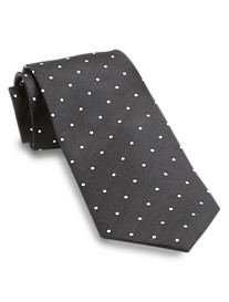 Gold Series Pindot Silk Tie