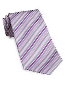 Geoffrey Beene® Stripe Silk Tie