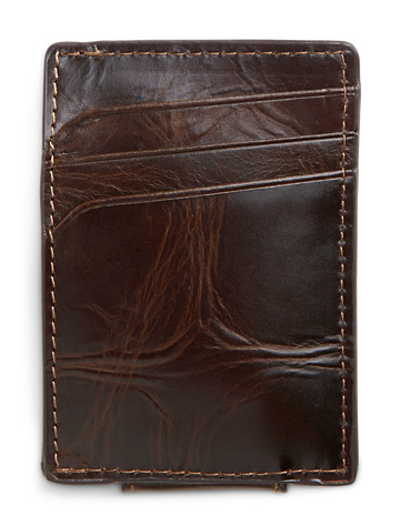 Fossil® Norton Leather Front Pocket Wallet - ( Bags, Luggage & Wallets )