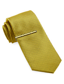 Gold Series® Patterned Tie With Tie Bar