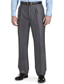 Geoffrey Beene® Windowpane Pleated Suit Pants